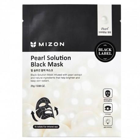 MIZON CHARCOAL SOLUTION BLACK MASK 25G