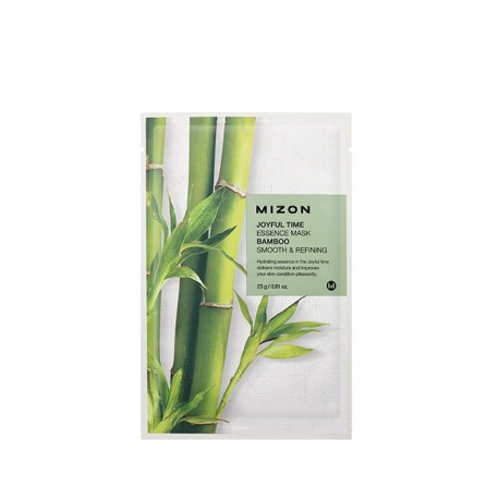 MIZON JOYFUL TIME ESSENCE MASK BAMBOO SMOOTH & MOISTURE 23g