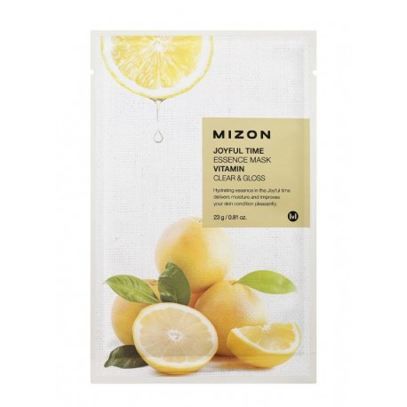 MIZON JOYFUL TIME ESSENCE MASK VITAMIN CLEAR & GLOSS 23g