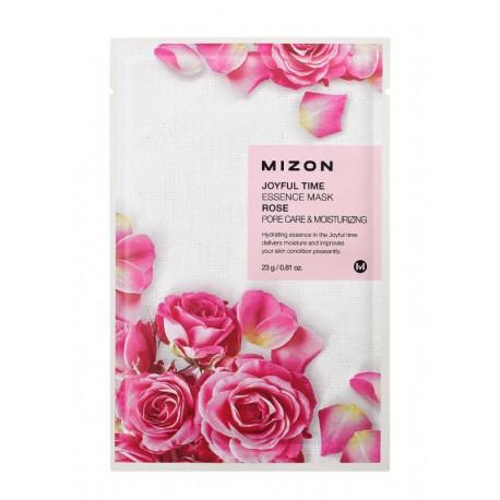 MIZON JOYFUL TIME ESSENCE MASK ROSE PORE CARE & MOISTURIZING 23g