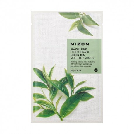 MIZON JOYFUL TIME ESSENCE MASK GREEN TEA MOISTURE & VITALITY 23g