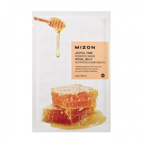 MIZON JOYFUL TIME ESSENCE MASK ROYAL JELLY NUTRITION & SKIN HEALTH 23g