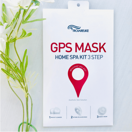 TROIAREUKE GPS MASK HOME SPA KIT 3 STEP