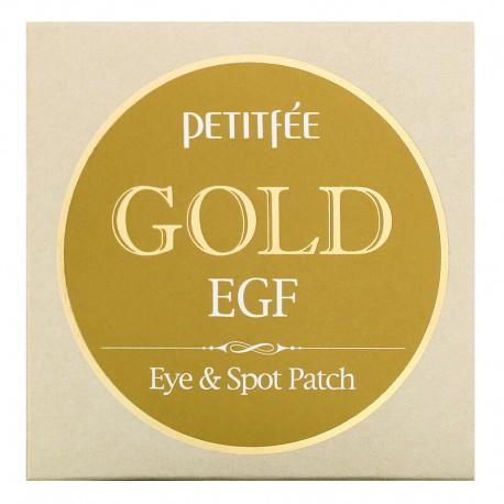 PETITFEE GOLD & EGF EYE & SPOT PATCH (60uds)