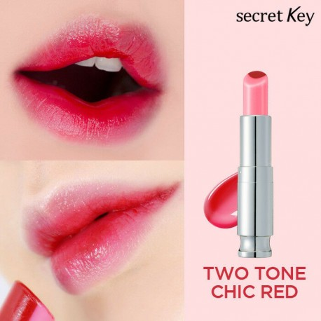 SECRET KEY SWEET GLAM TINT TWO-TONE CHIC RED