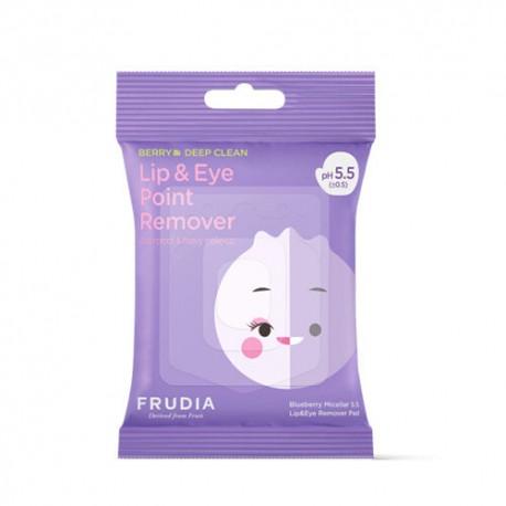 FRUDIA BLUEBERRY MICELLAR 5.5 LIP & EYE REMOVER PAD