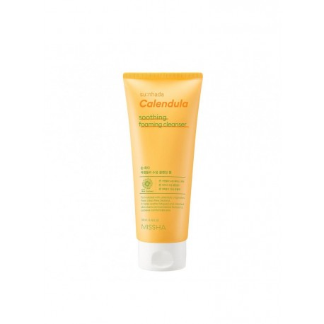MISSHA SUN HADA CALENDULA SOOTHING FOAMING CLEANSER 200ML