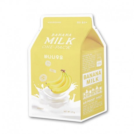 APIEU BANANA MILK ONE PACK NOURISHING MASK