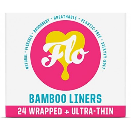 BAMBOO LINERS 24 WRAPPED ULTRA - THIN