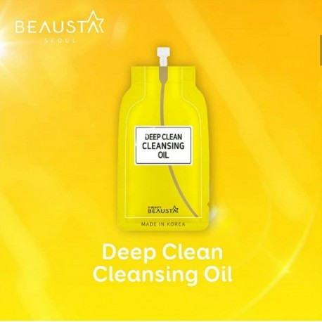 BEAUSTA DEEP CLEAN CLEANSING OIL 15ML
