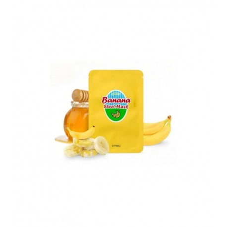 APIEU BANANA AND HONEY SHEET MASK