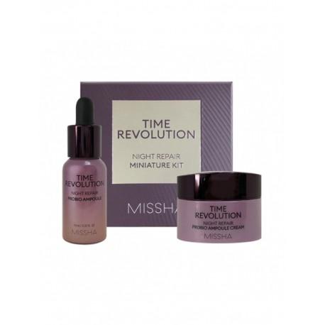 MISSHA TIME REVOLUTION NIGHT REPAIR MINIATURE KIT 10ml + 7ml
