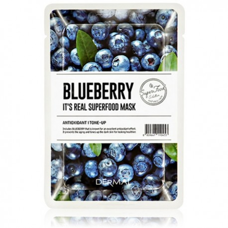 DERMAL IT´S REAL SUPERFOOD MAS BLUEBERRY