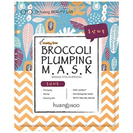 HUANGJISOO BROCCOLI PLUMPING MASK