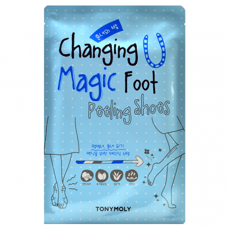 TONY MOLY CHANGING MAGIC FOOT PEELING SHOES