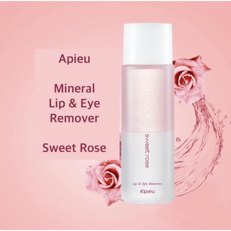 APIEU MINERAL SWEET ROSE LIP AND EYE REMOVER