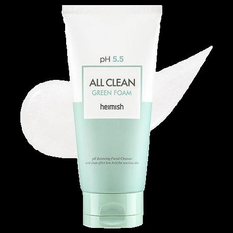 HEIMISH ALL CLEAN GREEN FOAM PH 5.5