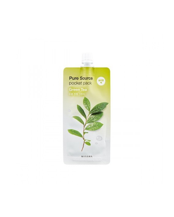 MISSHA PURE SOURCE POCKET PACK GREEN TEA