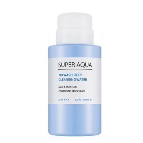 MISSHA SUPER AQUA NO WASH DEEP CLEANSING WATER 320 ML