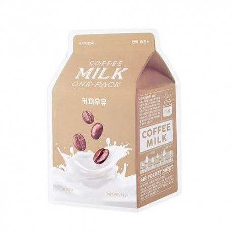 A´PIEU COFFEE MILK ONE PACK FIRMING MASK