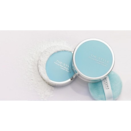MISSHA THE STYLE FITTING WEAR SEBUM CUT PRESSED POWDER Nº1 - CLEAR MINT