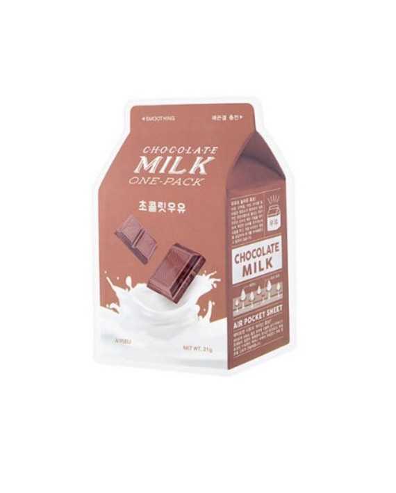 A´PIEU CHOCOLATE MILK ONE PACK SMOOTHING MASK