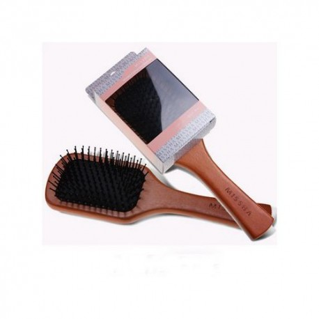 MISSHA WOODEN CUSHION HAIR BRUSH - MEDIUM