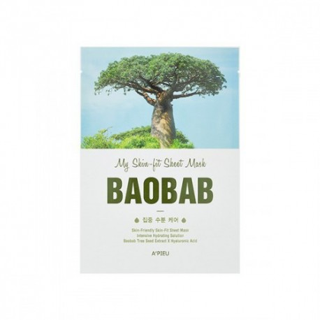 A´PIEU MY SKIN FIT SHEET MASK BAOBAB