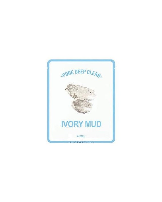 A´PIEU PORE DEEP CLEAR IVORY MUD MASK